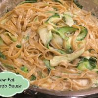 Low Fat Pasta Alfredo Recipe