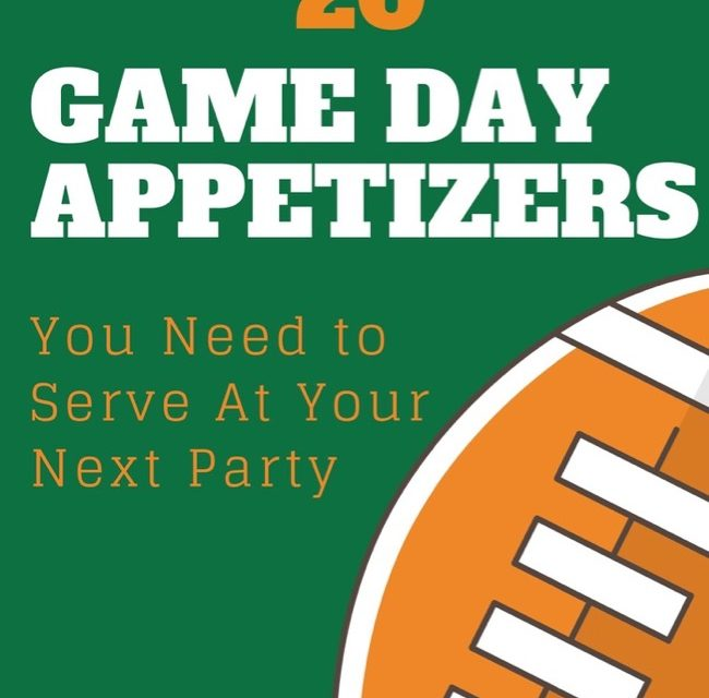 20 Delicious Appetizers for Game Day