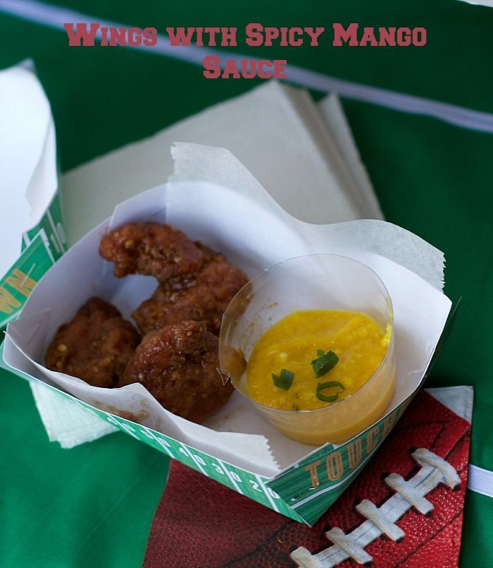 #AD Game Day Buffet Ideas Using Deli Wings