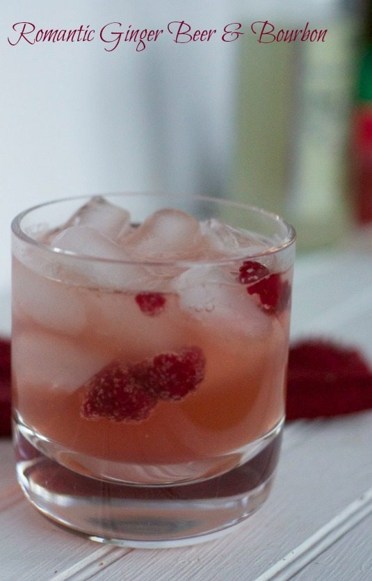 Bourbon Cocktail Recipes : Romantic Ginger Beer & Bourbon Drink