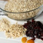 Low Fat Granola a Morning Pick Me up with Yoplait Greek 100