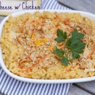 Comfort Food Casserole: Homemade Mac and Cheese with Chicken Recipe