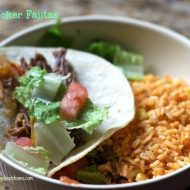 Slow Cooker Recipes: Fajitas and Homemade Fajita Seasoning Mix Recipe