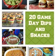 Game Day Recipes and Dips Round-Up