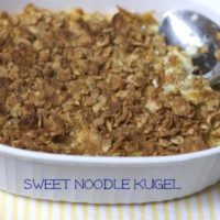 Sweet Noodle Kugel Recipe