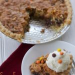 Peanut Butter and Chocolate Chip Cookie Pie Recipe