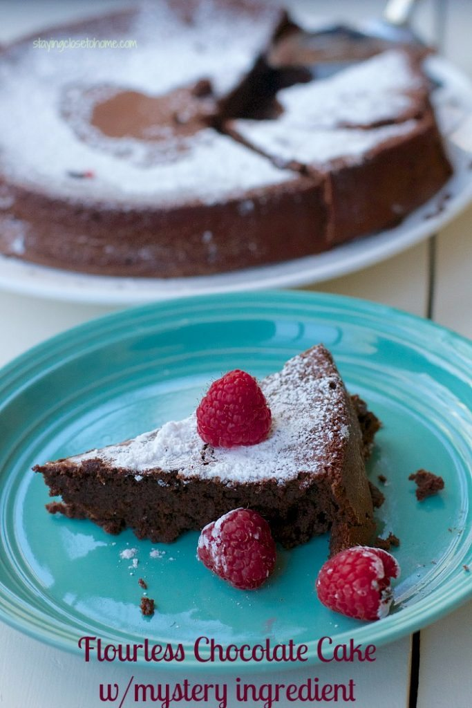 Flourless Chocolate Cake Recipe : With Beans Instead of Flour