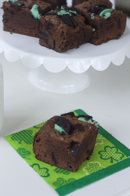 mint oreo browneis