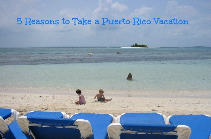 Puerto Rico Vacation destinations are ideal for families! Check out our list of 5 Reasons To Take A Puerto Rico Vacation this year!