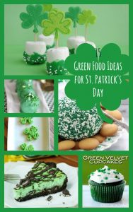 green food ideas for st patrick day