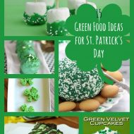 Green Food Ideas For St. Patrick's Day Party Food