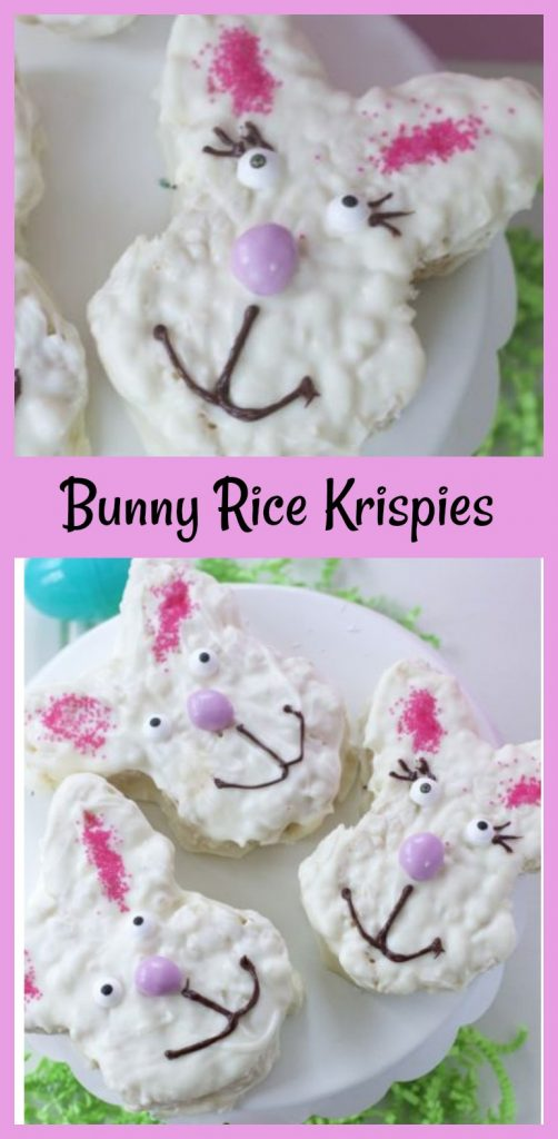 Bunny Rice Krispie Treat