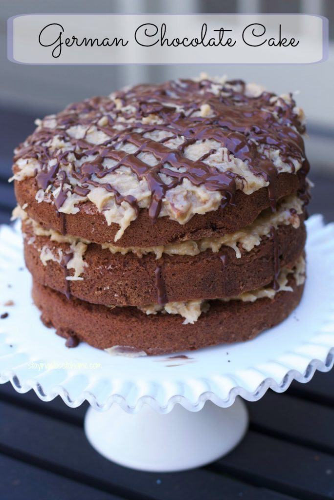 Decadently Rich German Chocolate Cake Recipe