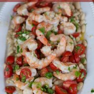Easy Shrimp Recipe: Shrimp with Cannellini Beans