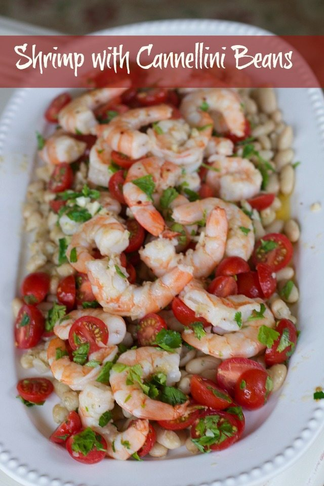 Shrimp-with-cannellini-Beans