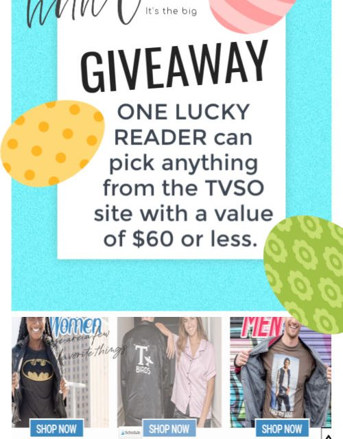 SPRING GIVEAWAY from TV STORE ONLINE