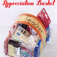 DIY Teacher Appreciation Gifts/  DIY Candy Easter Baskets under $10