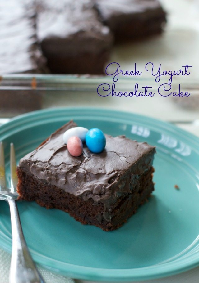 Greek Yogurt Chocolate Cake Recipe