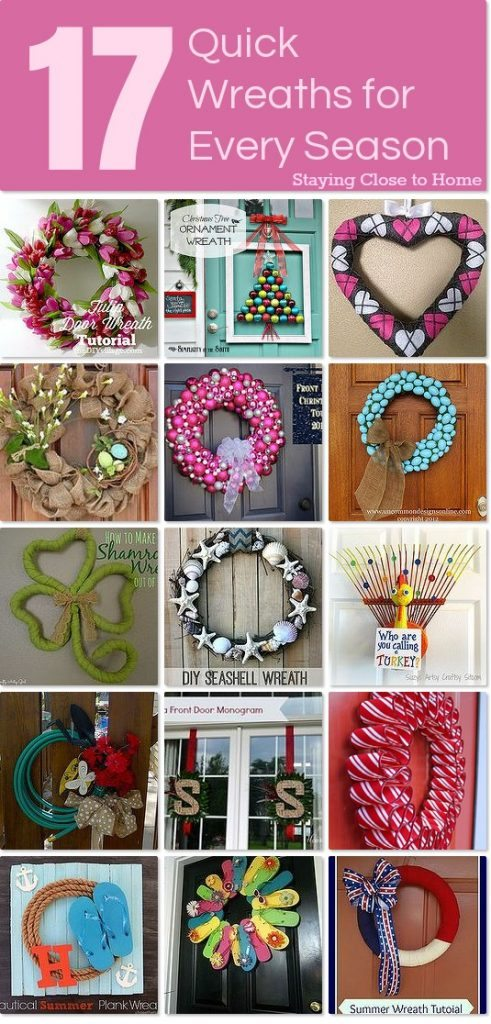17 Quick Wreaths for Every Season