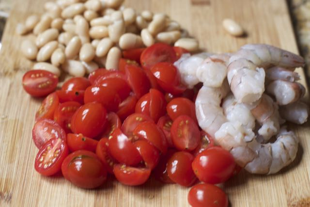 shrimp-cannellini beans