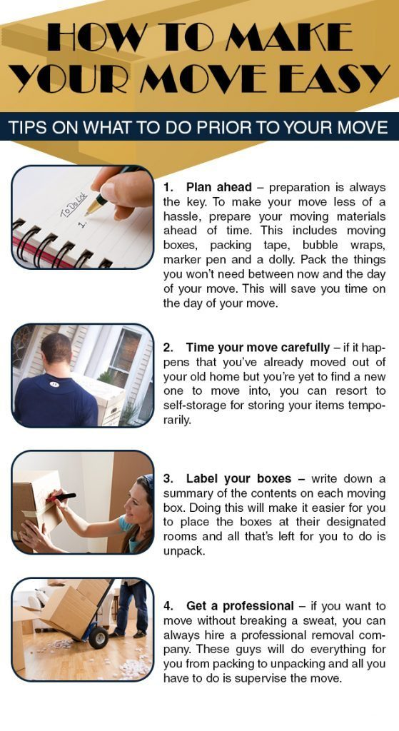 How To Make Your Move Easy