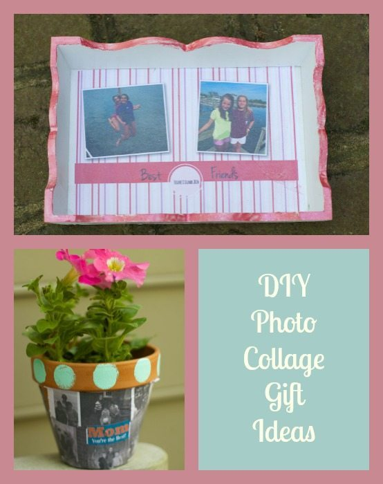 DIY Photo Collage Gift Ideas for Mothers Day and Grads