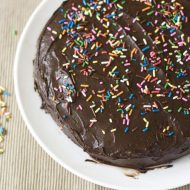 Easy Cake Recipes: One Bowl Chocolate Cake
