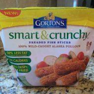 Gorton's Smart & Crunchy Fish Sticks