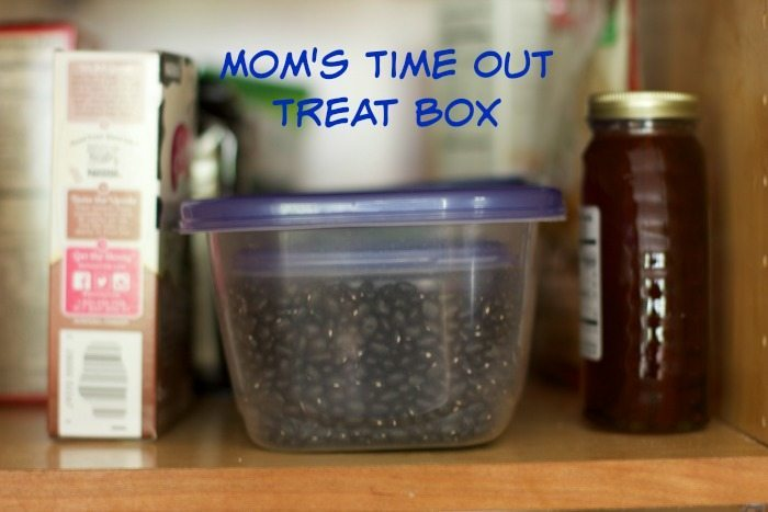 mom's time out treat box