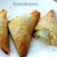 Entree Spanakopita
