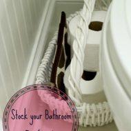 Guest Bathroom Ideas and P&G Deals