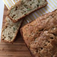 Chocolate Chip Zucchini Bread Recipe with Coconut Oil