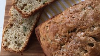 Zucchini Bread with Coconut Oil