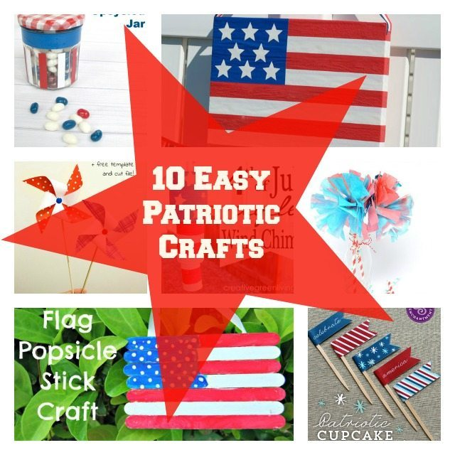 4th Of July crafts are so much fun for kids to stay occupied while you are preparing your 4th of July recipes for your family barbecue!  Check out this list!