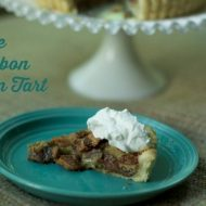 Best Bourbon Turtle Pecan Tart Recipe #BourbonBBQ