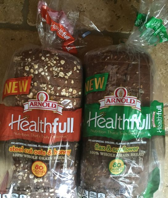 one (1) coupon, valid for $5 off an Arnold® Healthfull® Bread