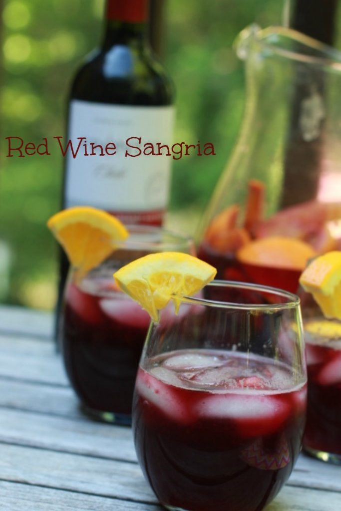 Sangria Recipes like this Easy Citrus Sangria Recipe are great Summer Fruity Drinks everyone will enjoy! Sangria Recipes are a great way to serve wine!