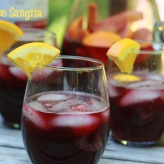 Happy Place Red Wine Sangria Recipe