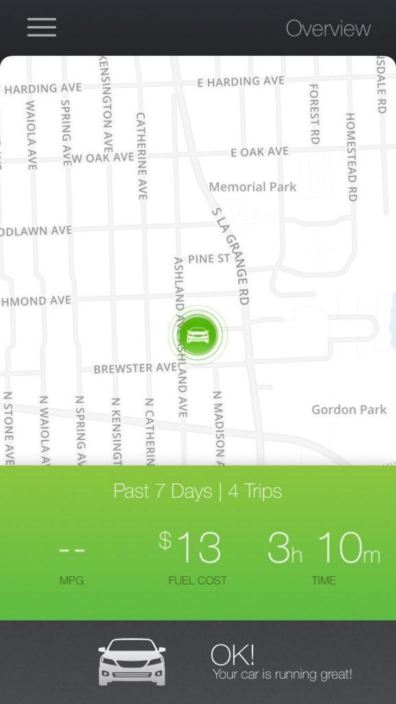 metromile-driving-app