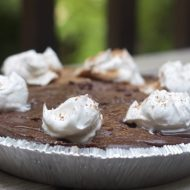 Simple Chocolate Cream Pie Recipe