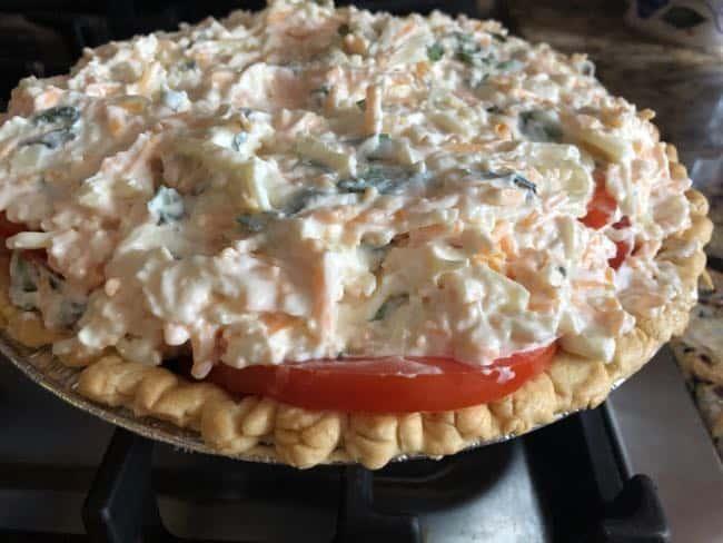 one layer tomato pie recipe