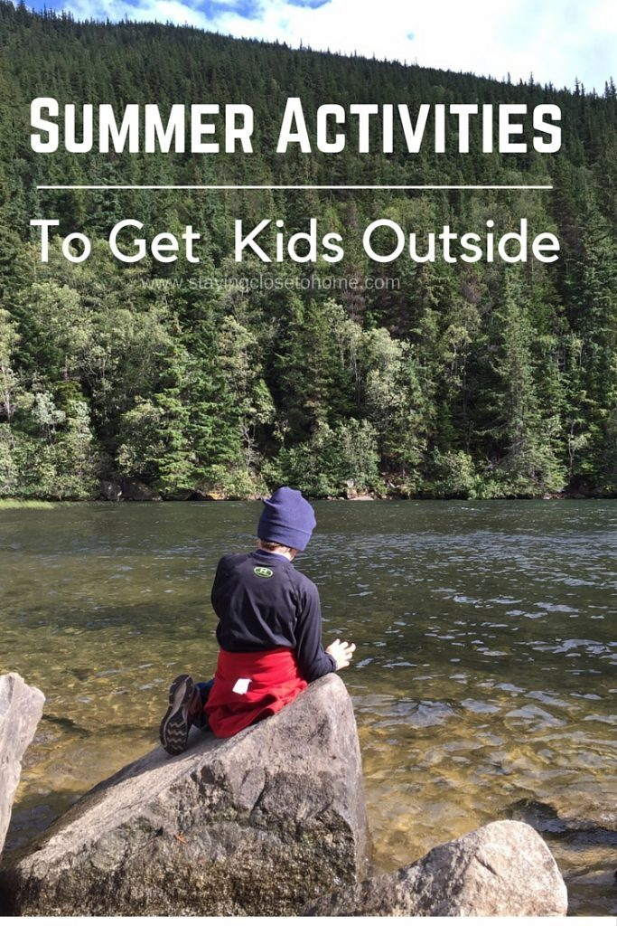 Summer Activities like these are ideal to get kids off the couch and moving during summer break. No more lazy days on the couch! Get them active instead!