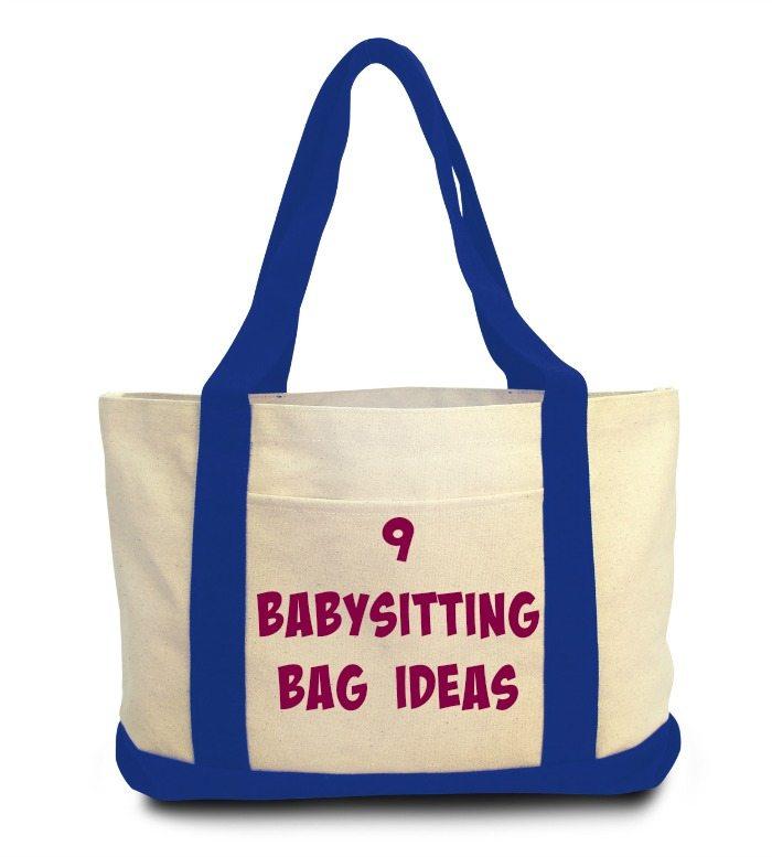 babysitting BAG IDEAS