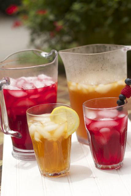 Simple Flavored Iced Teas