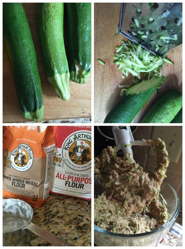 zucchini bread steps