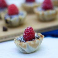 Dessert Recipes: 5 Ingredient Raspberry Tart Recipe