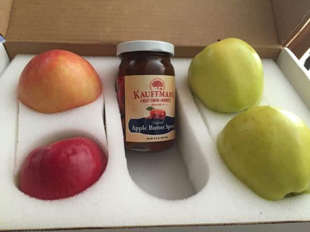 Kauffman's orchard box
