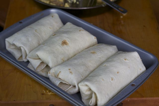 freezer breakfast burritos Freezer Food: Breakfast Burritos
