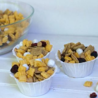 PB & J Snack Mix Recipe