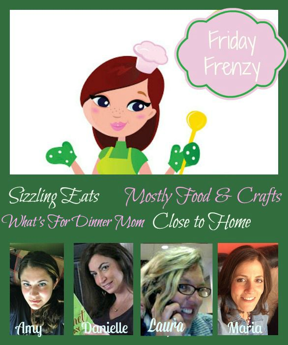 Craft & Recipe Link Up Party 1/15 #FridayFrenzy